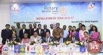 New Team of Rotary Club of Nagpur Mihan Town installed