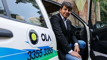 Carmakers see gains in Uber, Ola sales