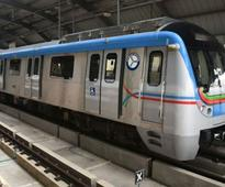 Record 2.4 lakh commuters travel by Hyderabad Metro on Sunday