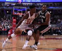 Bulls put Spurs to sword as Sixers bounce back