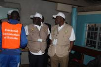 GEJ on Election Day in Zambia