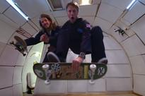 Tony Hawk Tries Out Some Weightless Skateboarding On
