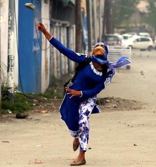 The new faces of Kashmir's protests are a problem for India