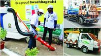 SDMC gets 6 new mechanical sweepers