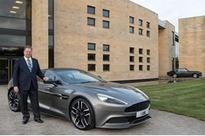 Aston Martin CEO Dr Andy Palmer to promote the best of British