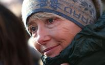 Emma Thompson braves pneumonia to join march in support of Nazanin Zaghari-Ratcliffe
