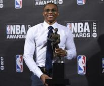 NBA Awards 2017: Russell Westbrook named MVP after historic season; Rockets, Bucks win 2 trophies each
