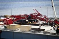 Most Lanes of Bridge Reopen After Crane Collapse Outside NYC