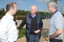 Watch: Mourinho Arrives at Man Utd Training Complex for First Time