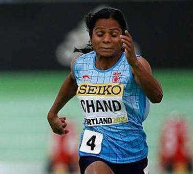 Dutee wins second gold, but way off Olympics qualification