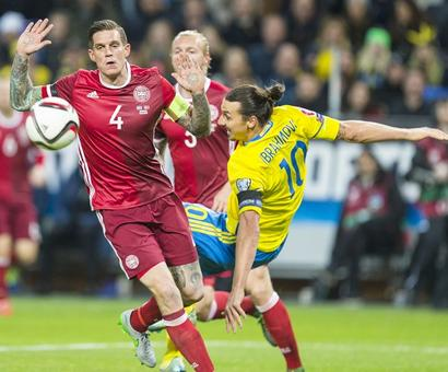 Euro 2016 playoffs: Sweden triumph but Danes steal precious away goal