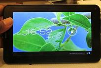 DataWind showcases the UbiSlate 7C+, its recommendation for the Aakash 3