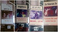 At Howrah station, Bollywood posters have a 'Swachh Bharat' message