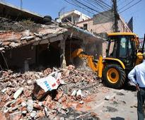 400 illegal structures razed in new sectors