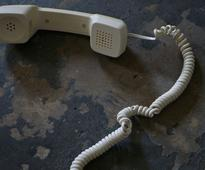 What happens when you send a text message to a landline telephone?