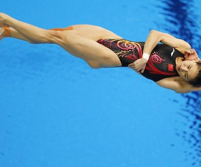 Will China's Wu become the most decorated female Olympic diver?