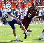 Virginia Tech football blasts ECU behind Jerod Evans and special teams