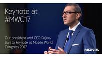Nokia CEO Rajeev Suri to Deliver Keynote Speech at MWC 2017