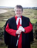 Golfers at the Royal Dornoch in Sutherland get spiritual advice from the Queen's chaplain
