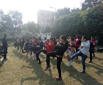 Self-defence classes gain momentum at DU after the NYE mass molestation