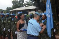 UN awards Rwandan Peacekeepers in Central African Republic