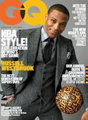 Thunder star Russell Westbrook graces the new cover of GQ magazine