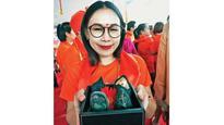 Thailand residents immerse Ganpati idols in the city