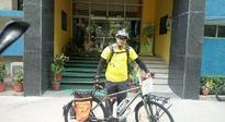 Firefox Bikes supports Indian cyclist to embark his world journey on wheels