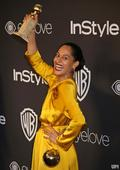 Viola Davis, Tracee Ellis Ross celebrate at the InStyle and Warner Bros. Golden Globe afterparty