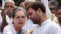 Rahul and Sonia Gandhi greet people on occasion of Milad-un-Nabi