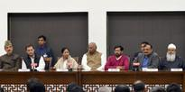 Joint press conference after a meeting on demonetisation