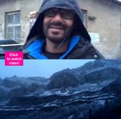 Ajay Devgn just shared a sneak peek of Shivaay's shooting location and it is BLOODY brilliant  watch video!