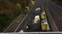 M2 reopens following man's death near Sandyknowes