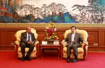 Vice Foreign Minister Liu Zhenmin Meets with Delegation Led by President Ronny Abraham of the International Court of Justice