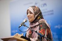 Women vital for peace, democracy, justice: Tawakkol Karman