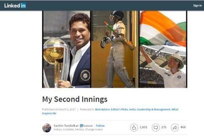 Sachin Tendulkar joins LinkedIn as an 'Influencer'