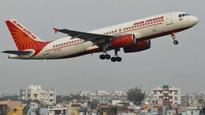 Air India's first direct flight service to Israel today