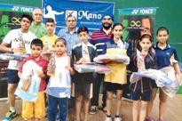 Shuttlers Saniya, Achintya win titles