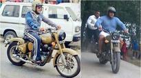 Salman Khan zooms around on Royal Enfield in Manali during Tubelight shoot