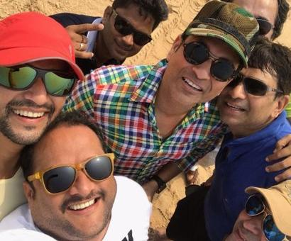 Look, who's partying in Goa!