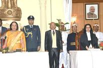 Justice Abhilasha Kumari Sworn in as the first woman Chief Justice of the High Court of Manipur