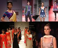 Lakme Fashion Week | Glitter of gold at ramp
