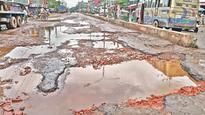 Cratered roads, bumpy rides in port city