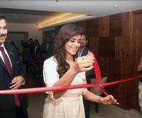 Actress Sonali Kulkarni inaugurates Bodyscape spa at The Resort hotel, Mumbai