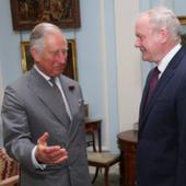 Prince Charles has private meetings with Northern Ireland political leaders