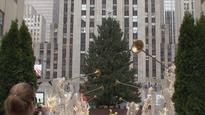 Man carrying gas can, matches arrested near Rockefeller tree