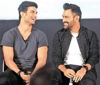 Sushant thinks in Dhoni's voice