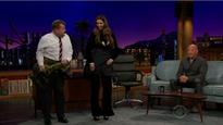 WATCH: Deepika Padukone teaches Vin Diesel and James Corden some 'lungi dance' steps!
