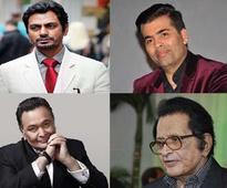 Rishi Kapoor, Nawazuddin Siddiqui, Karan Johar and Manoj Kumar get 'booked'