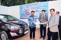 Ashwani Kumar, CMD Dena Bank presides over 'Mumbai Vehicle Loan Carnival'